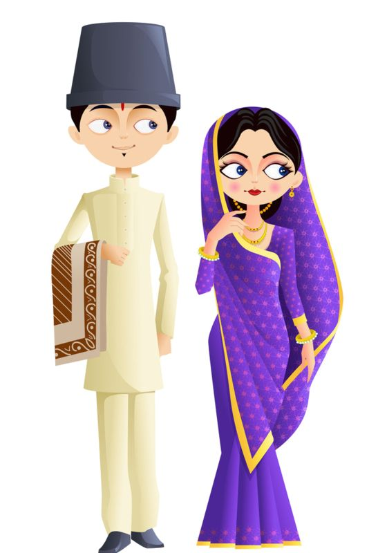 Free indian clothing cliparts. India clipart clothes