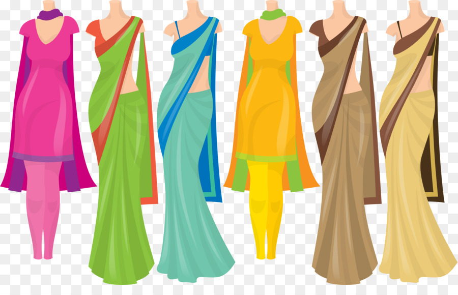 India clipart clothes. Pattern background dress clothing