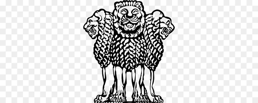 Drawing black head transparent. India clipart emblem