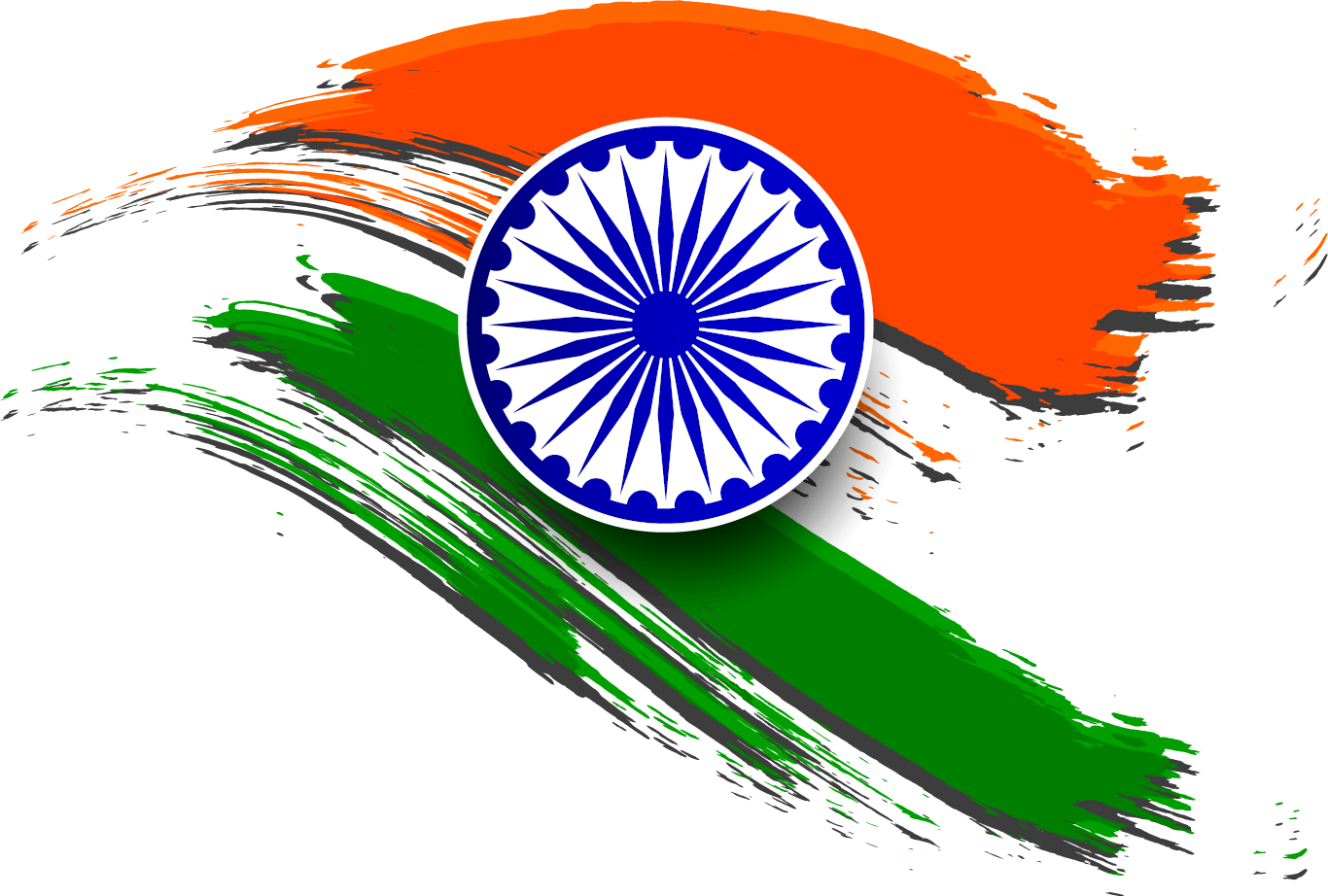 Wheel clipart flag indian.  collection of india
