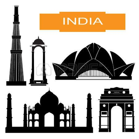 Mosque clipart gate. Places india in