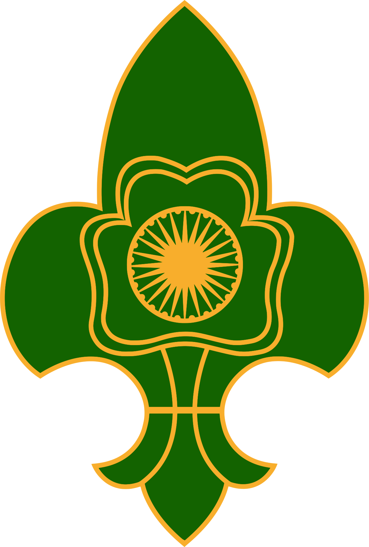 The scouts and guides. India clipart map bharat