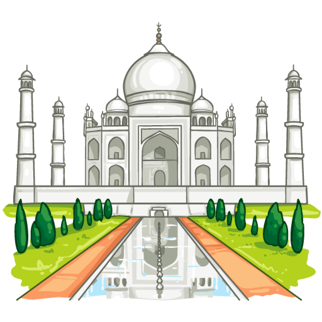 Queen clipart taj. Item detail mahal itembrowser