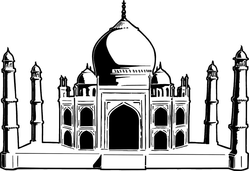 Queen clipart taj. Mahal free stock photo