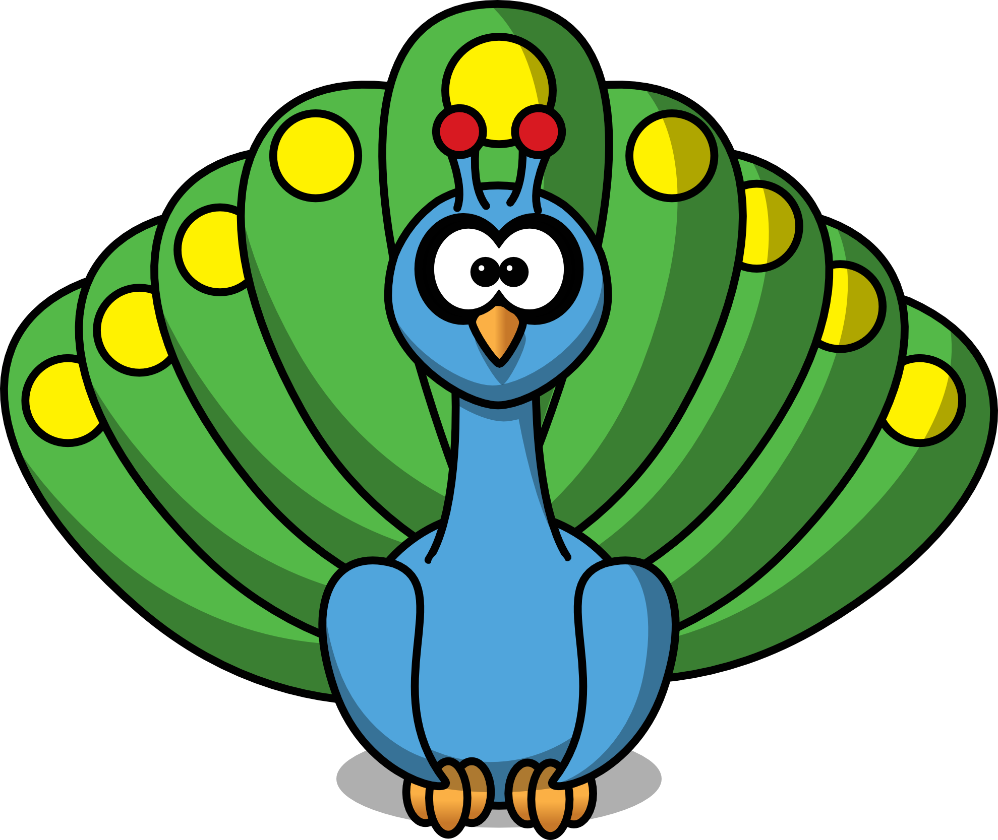 Peacock clip art for. Moth clipart animated