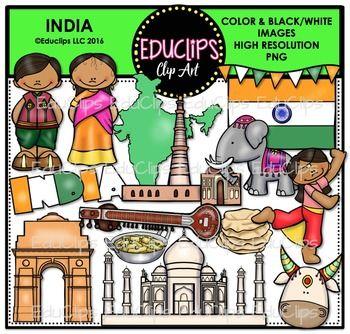 X free clip art. India clipart school