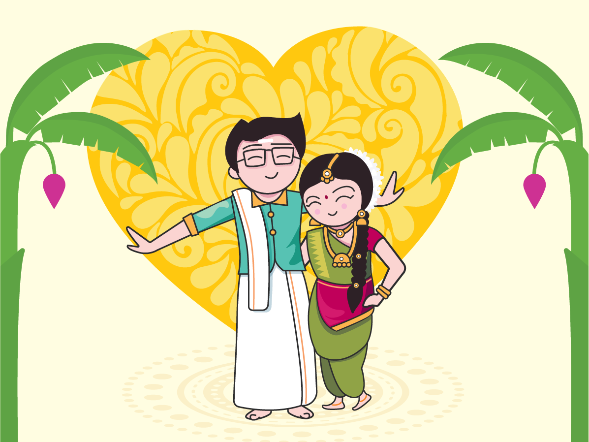 India clipart south. Indian wedding by gaya
