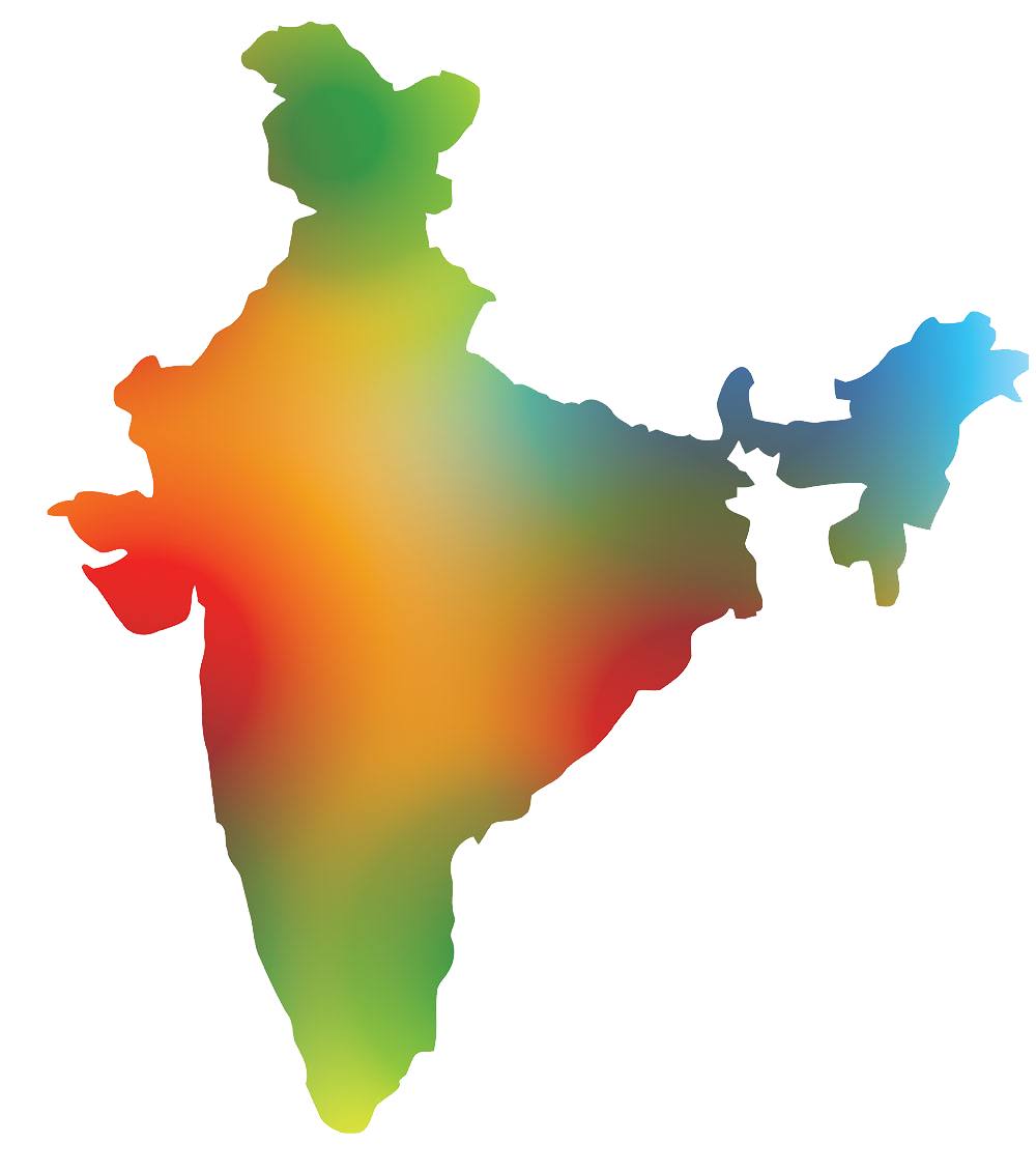 Map png transparent full. India clipart south