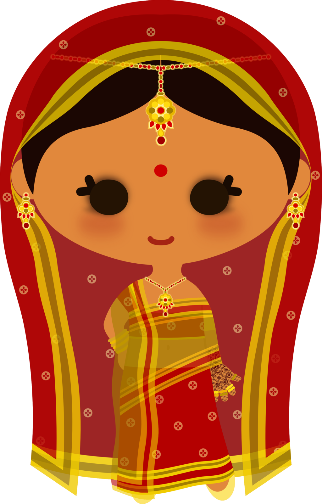 Indian bride meee by. Indians clipart vector