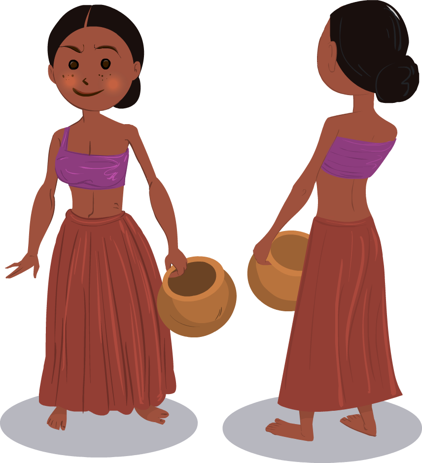 Kishorekumarsingh girl friday september. India clipart village