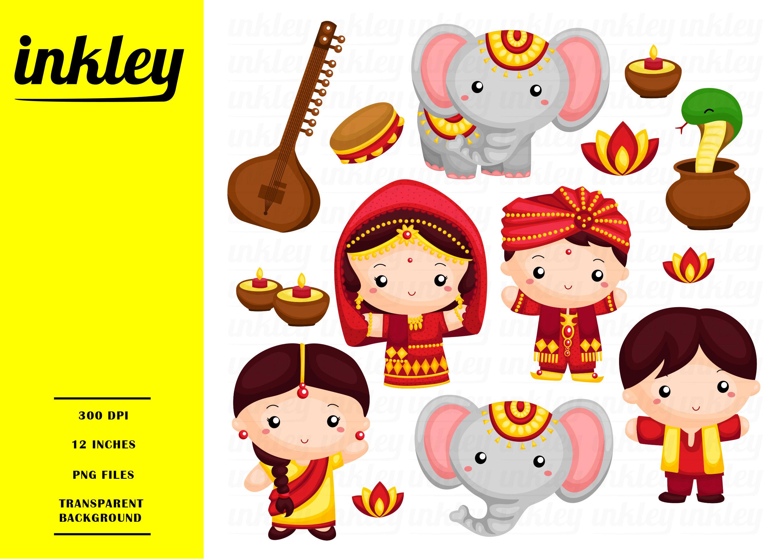India clipart. Clip art png elephant