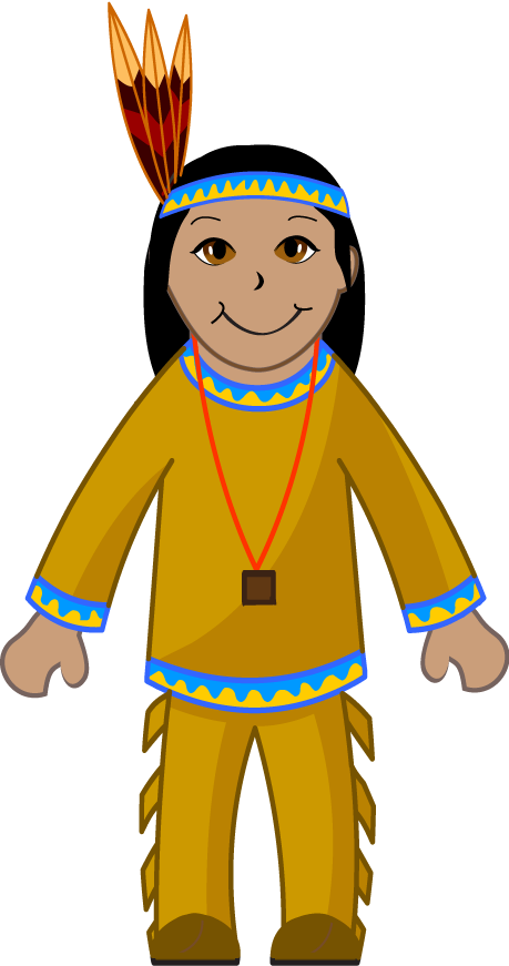 Cowgirl clipart indian cowboy. Clip art of an