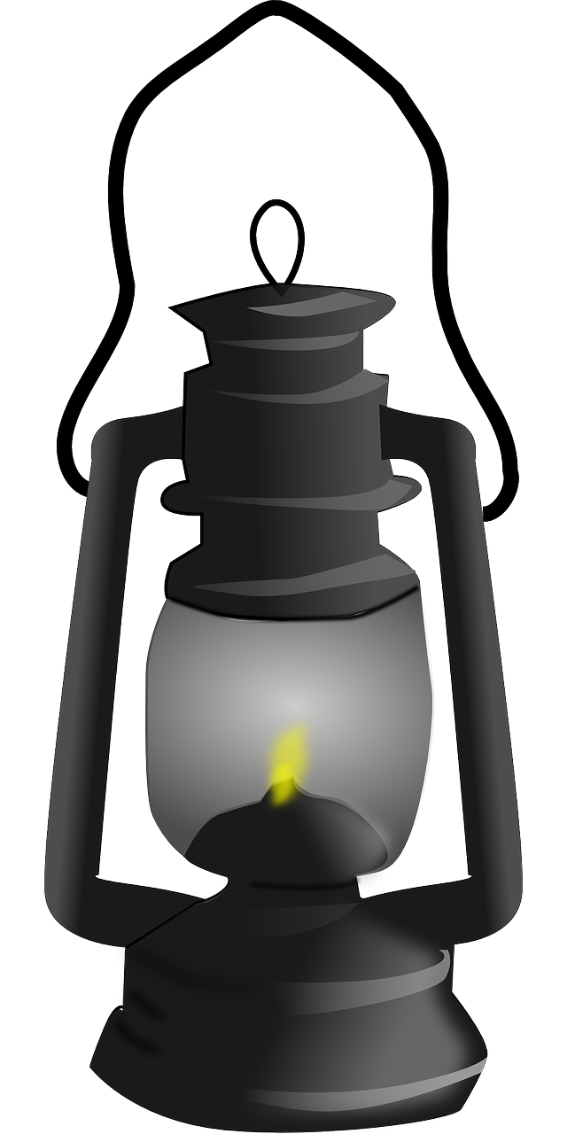 amazing oil lamp. Indian clipart lantern