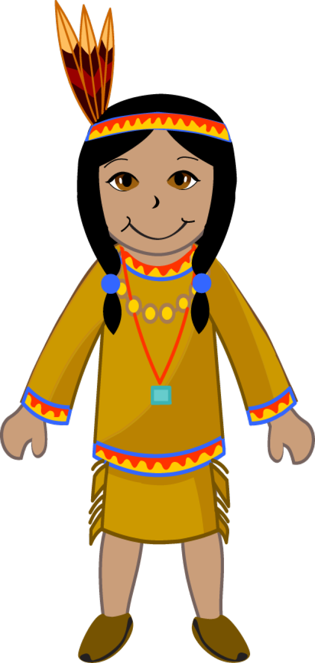 collection of native. Indians clipart traditional man indian