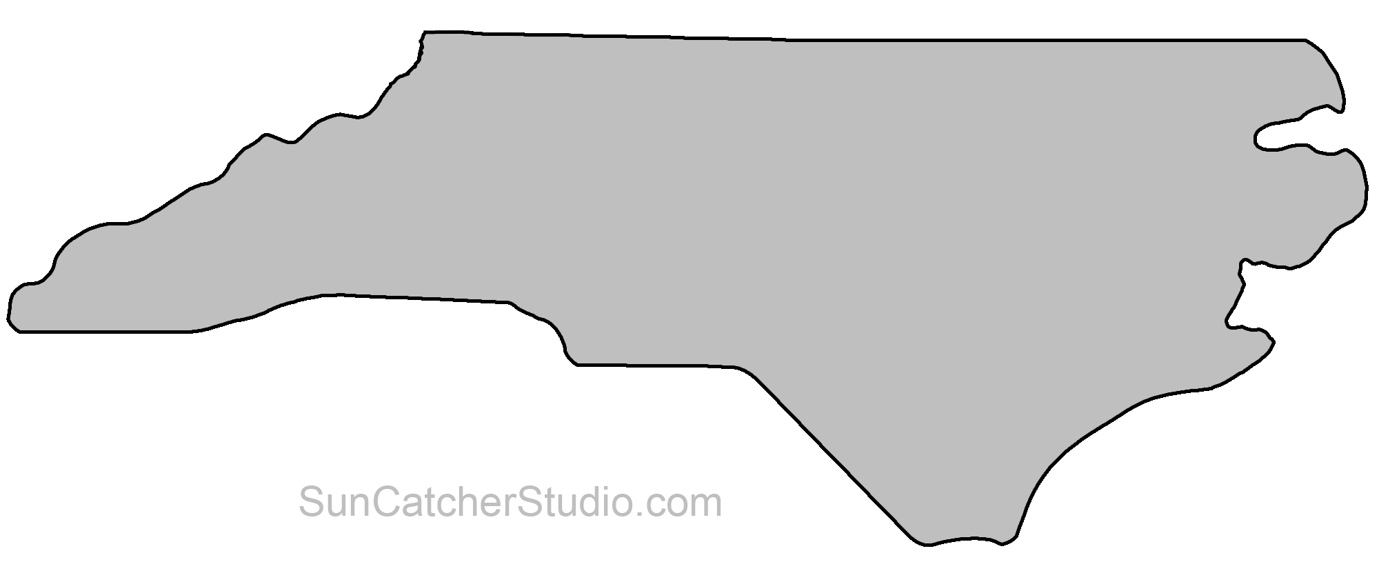 Indiana clipart shape. State outlines maps stencils