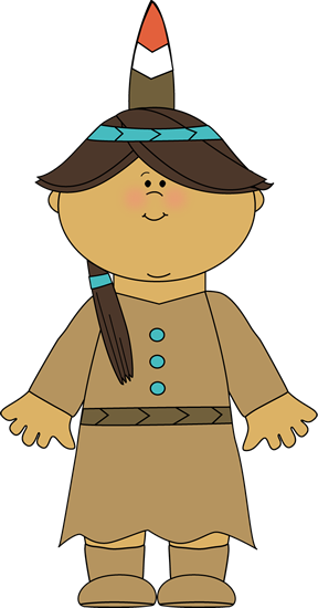 Mayflower clipart native american. Indian girl thanksgiving clip