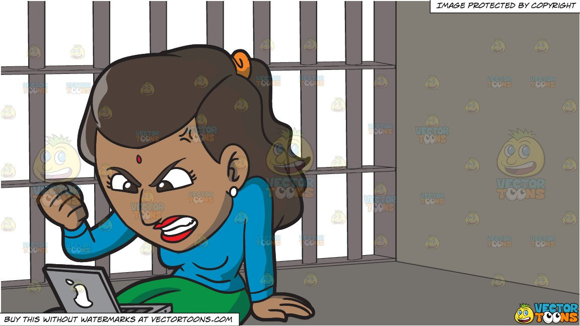An indian woman getting. Indians clipart angry