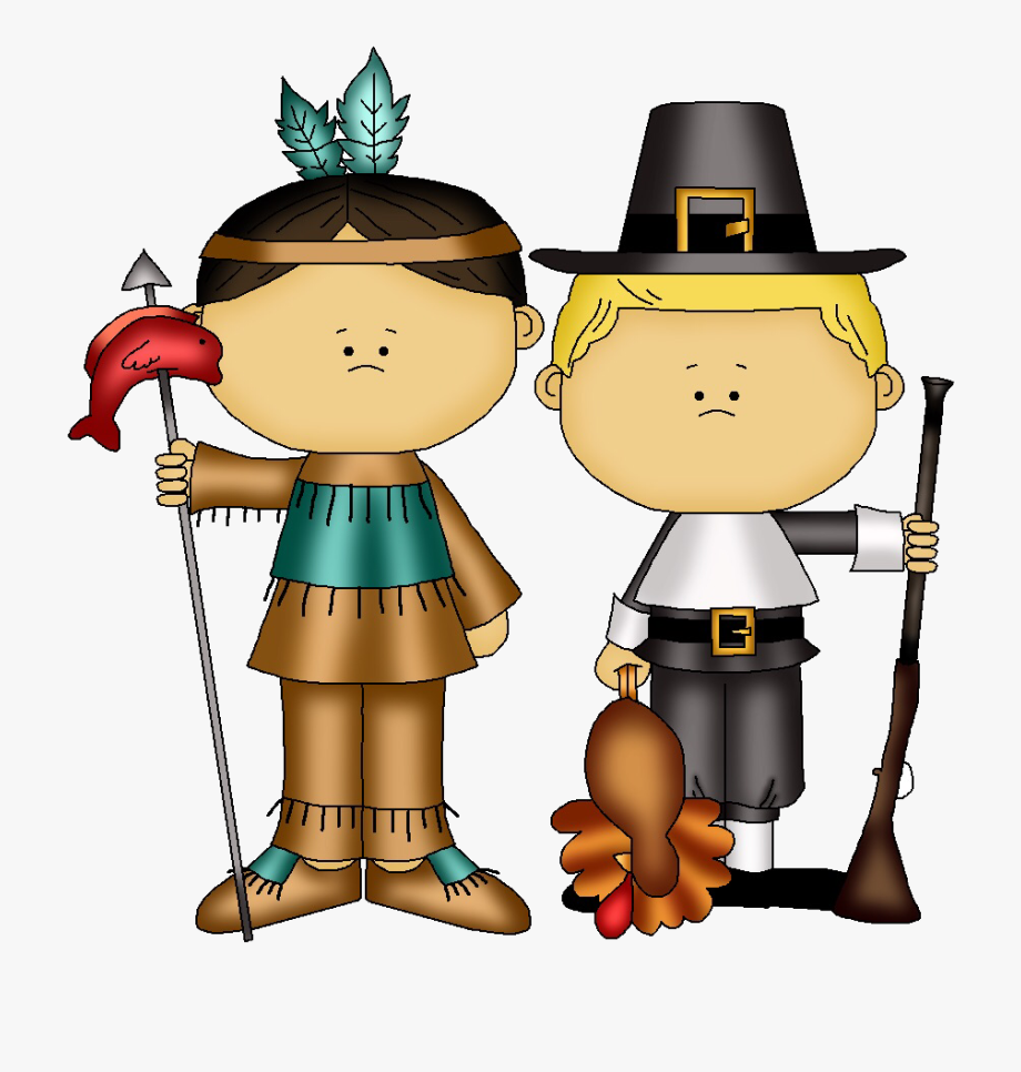 Thanksgiving indian pilgrim boys. Pilgrims clipart wampanoag