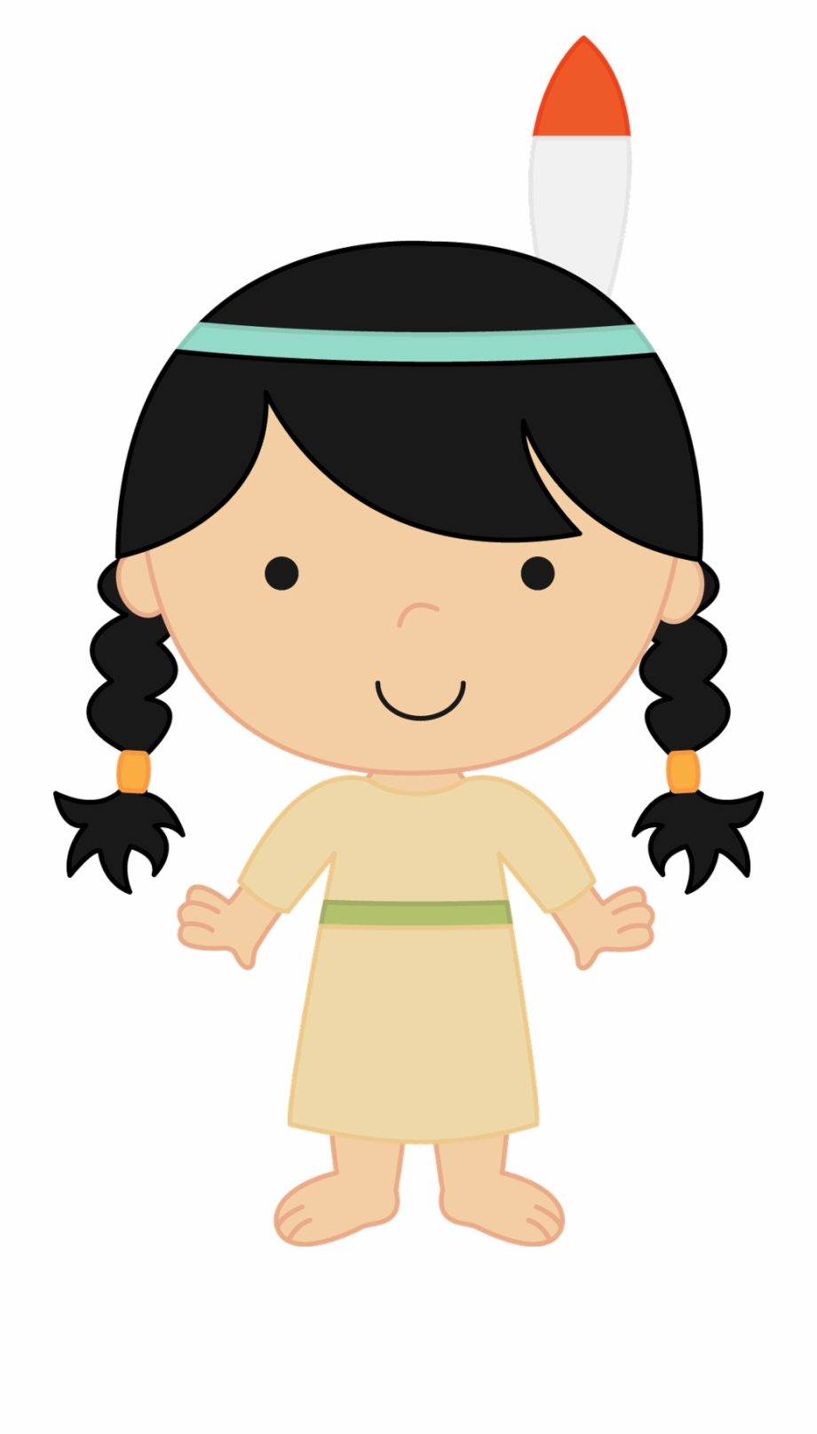Indians clipart cute. Neverland friends indian free