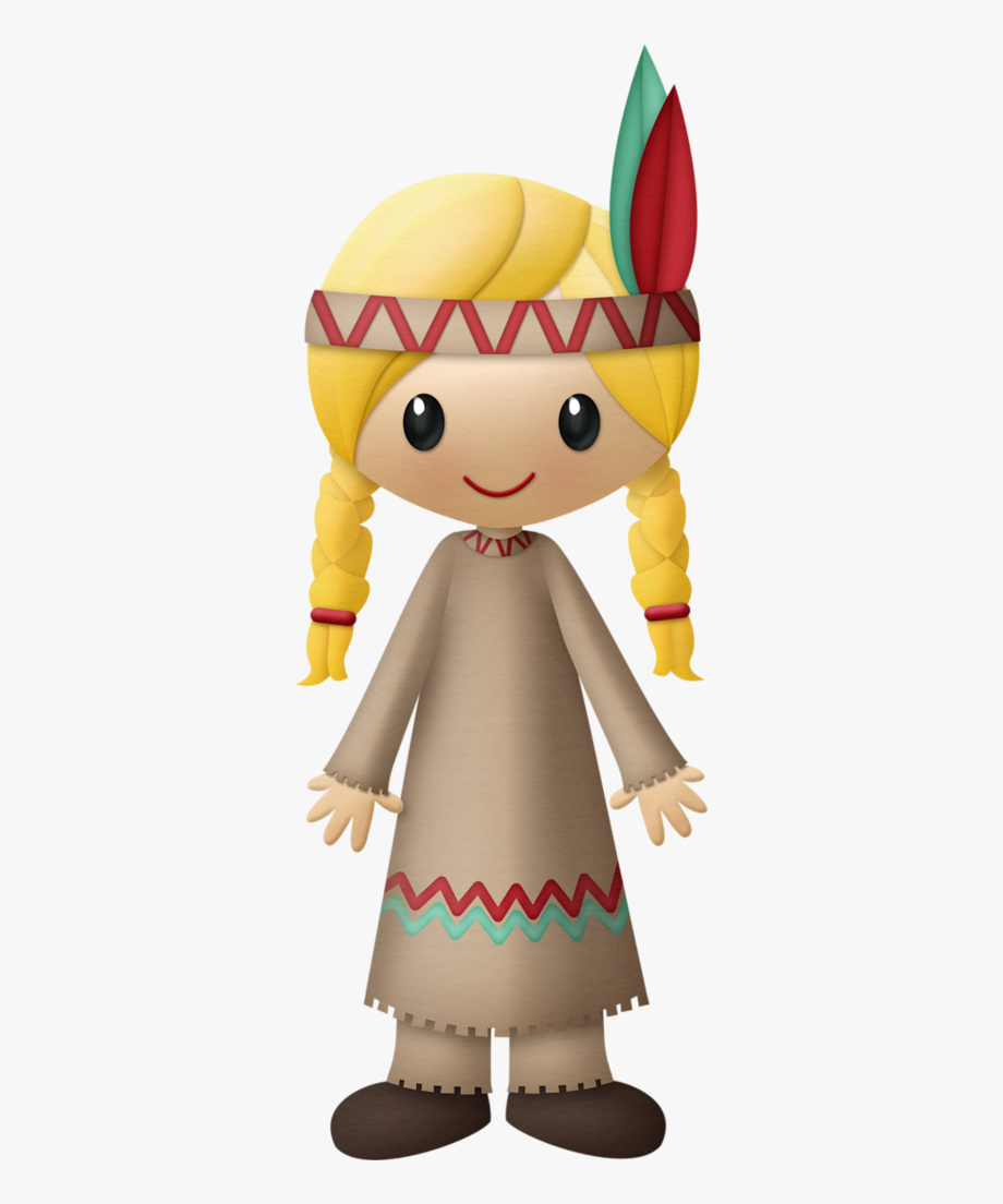Indians clipart cute. Pocahontas ndios nativos indian