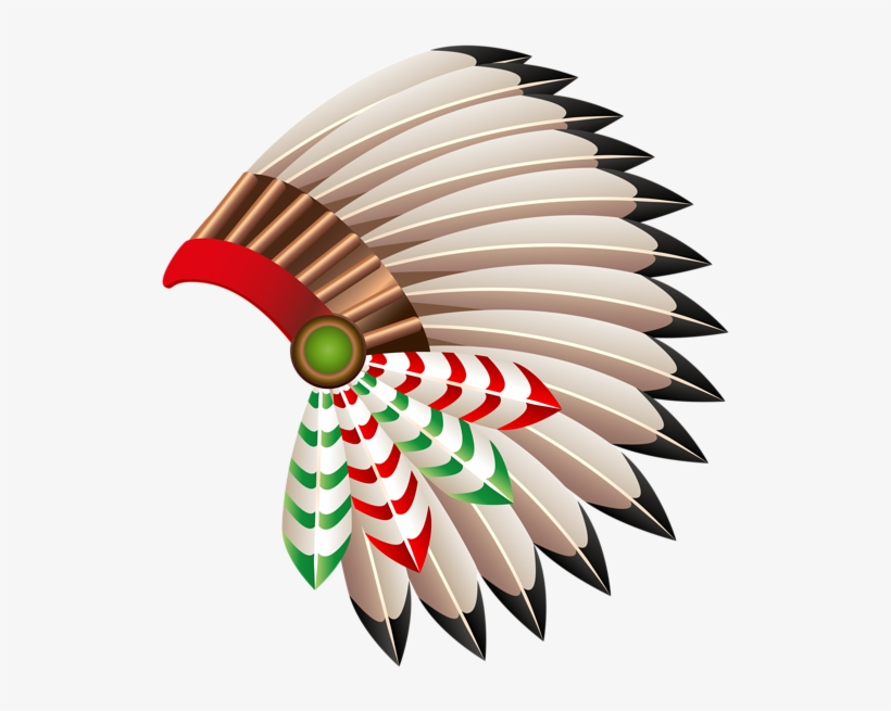 Native american chief transparent. Indians clipart indian red hat