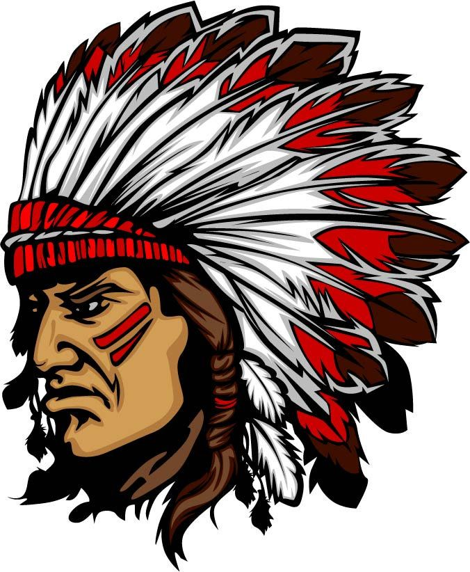 Indians clipart indian red hat. Chief machine embroidery design