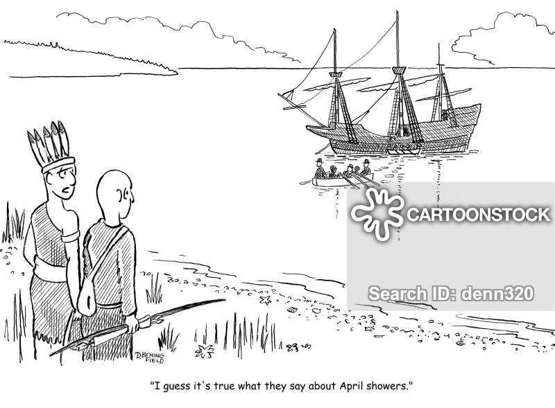 Rock cartoons and comics. Indians clipart plymouth colony