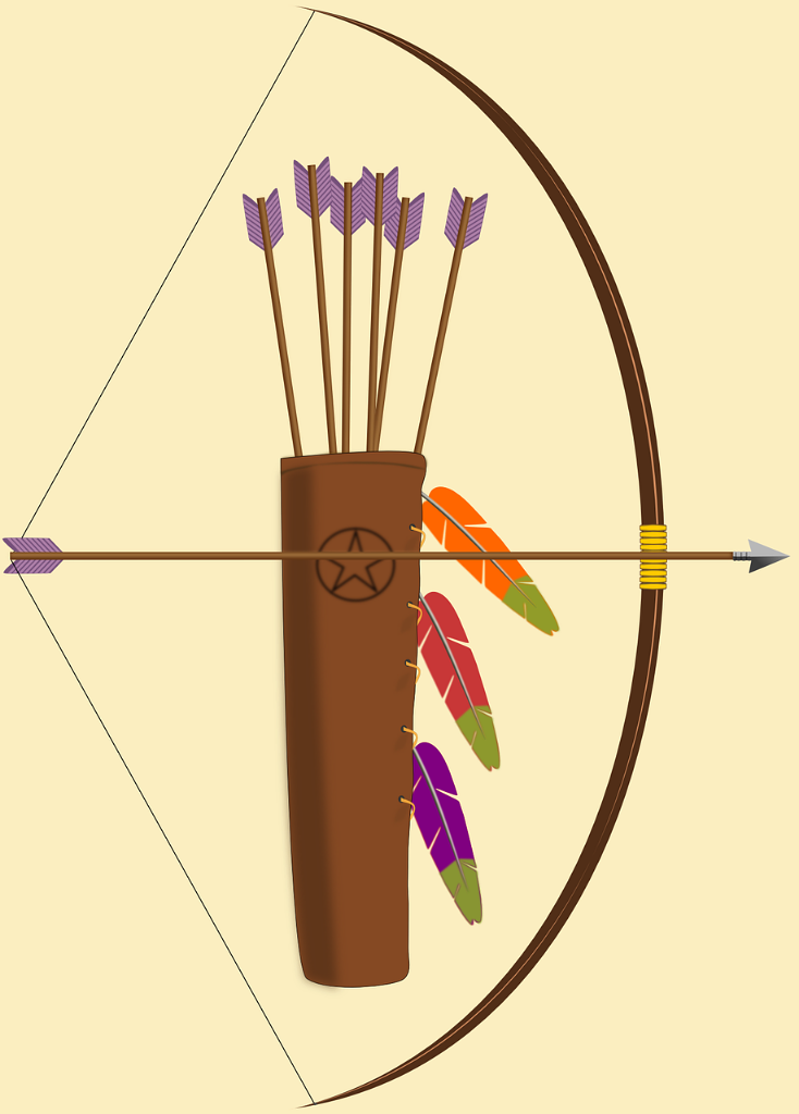 Indians clipart shooting bow.  amazing facts about