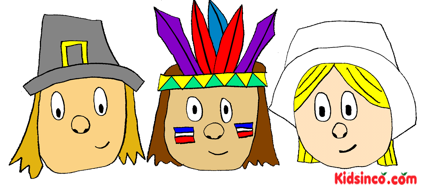 Pilgrims indians thanksgiving clip. Theatre clipart playscript