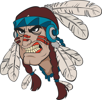 Indians clipart tribe leader. Free tribal cliparts download