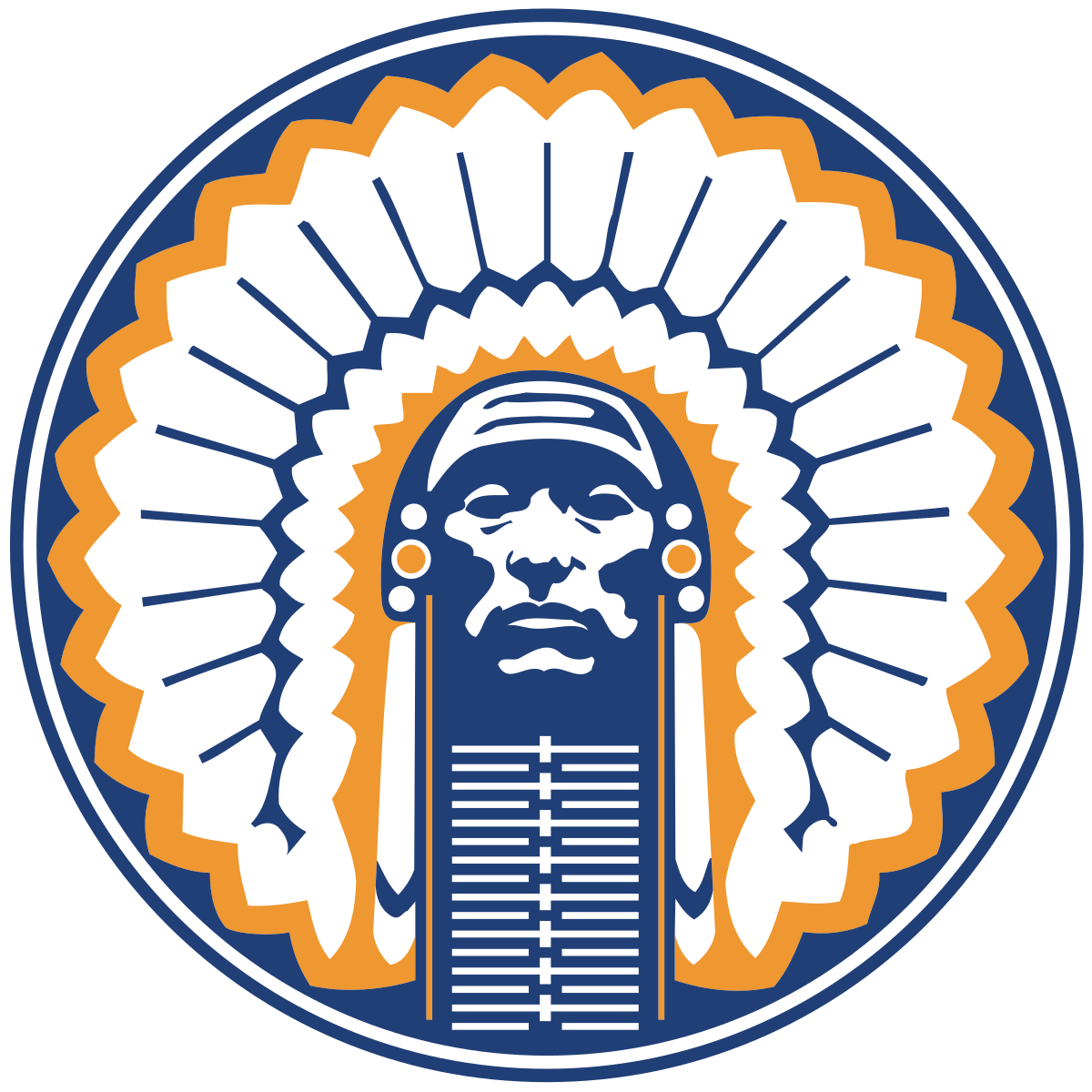 Indians clipart tribe leader. Chief illiniwek wikipedia