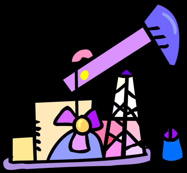 Industry clipart fossil fuel. Reciprocating piston pumps vector