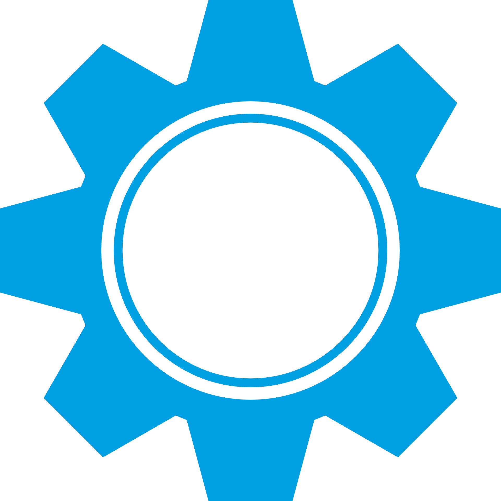 Drawing of blue free. Industry clipart gear wheel