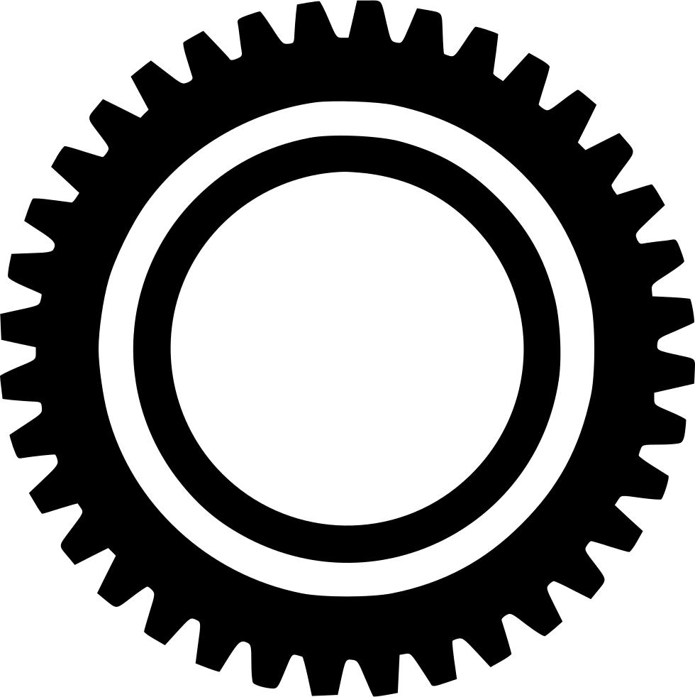 Cogwheel element equipment fix. Industry clipart gear wheel