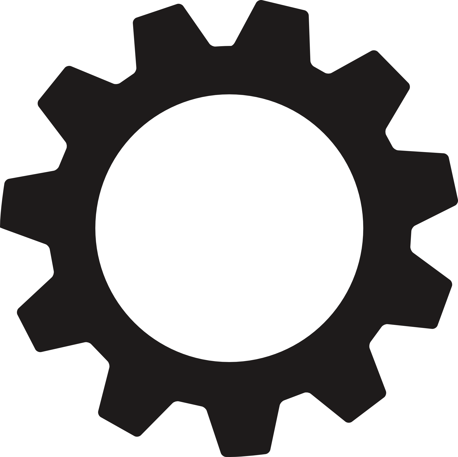 Industry clipart gear wheel. Icon of free image