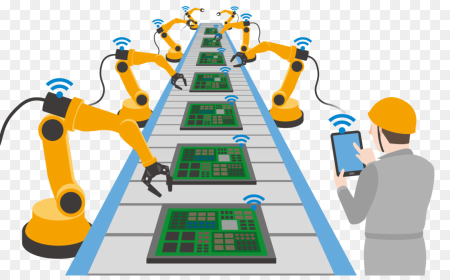 Industry clipart industrial automation. Technology background factory