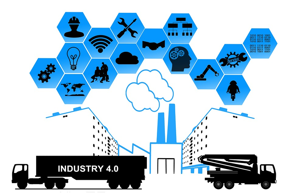 Manufacturing marketing engineering . Industry clipart industrial growth