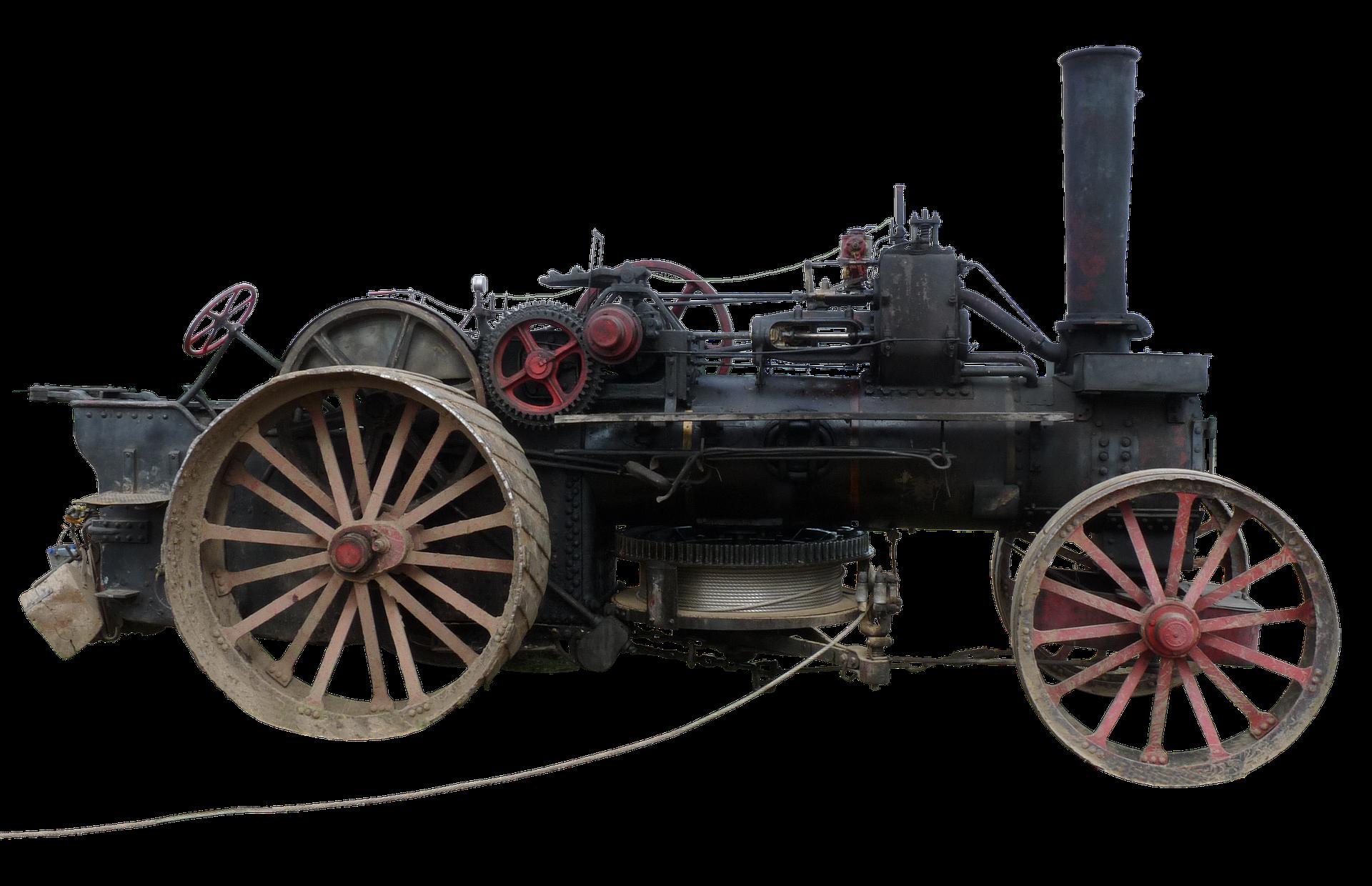 Steam engine machine transprent. Industry clipart industrial revolution