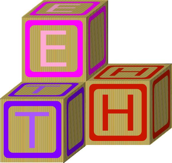 Infant clipart alphabet block. Abc blocks free clip