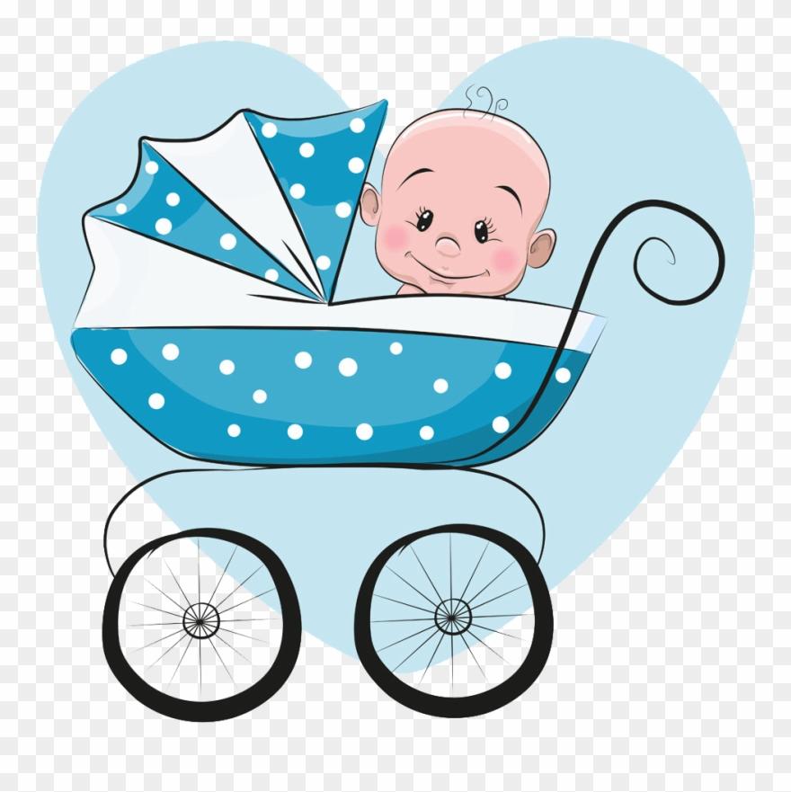Infant clipart baby boy. Cartoon illustration