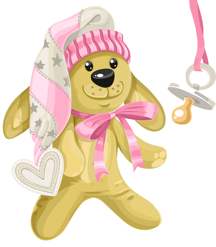 Infant clipart baby dummy. Shower card with pink