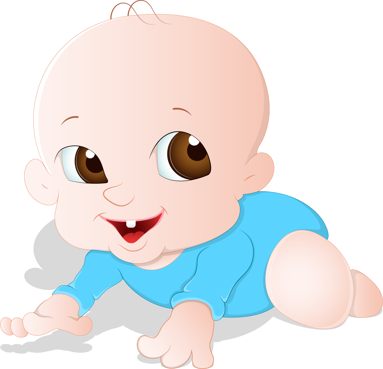 Face child clip art. Infant clipart baby hair