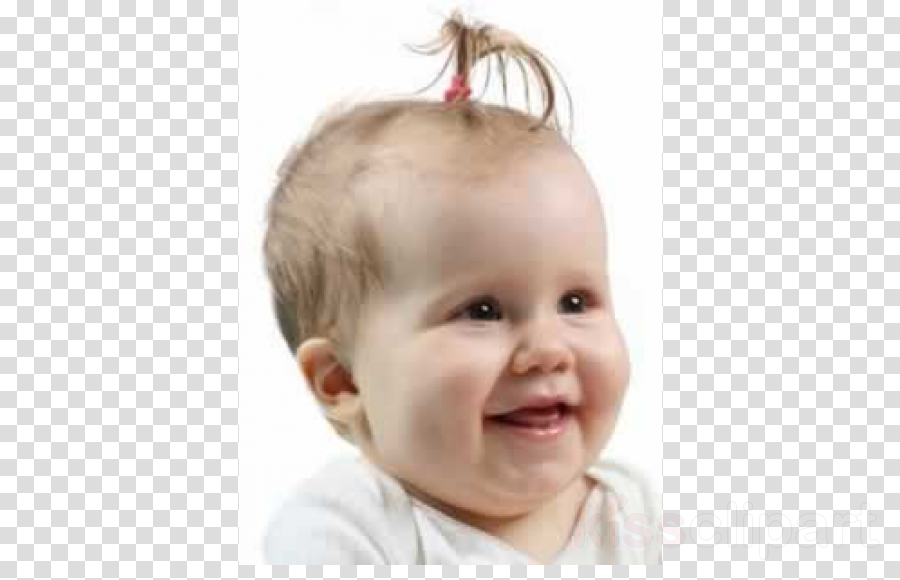 Infant clipart baby hair. Child background face transparent