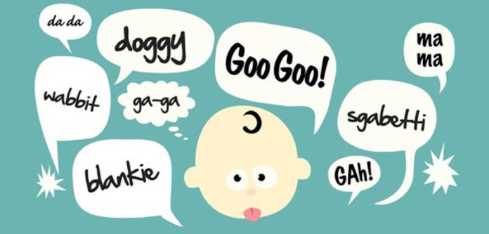 Parents please stop the. Infant clipart baby talk