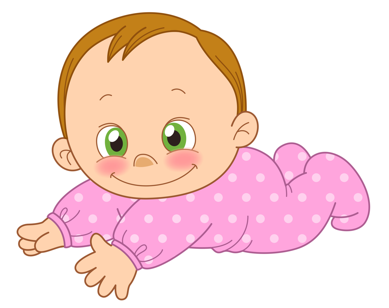 Infant clipart baby tummy time.  png babies and