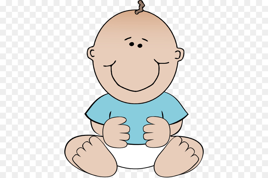 Child clip art cliparts. Infant clipart happy baby