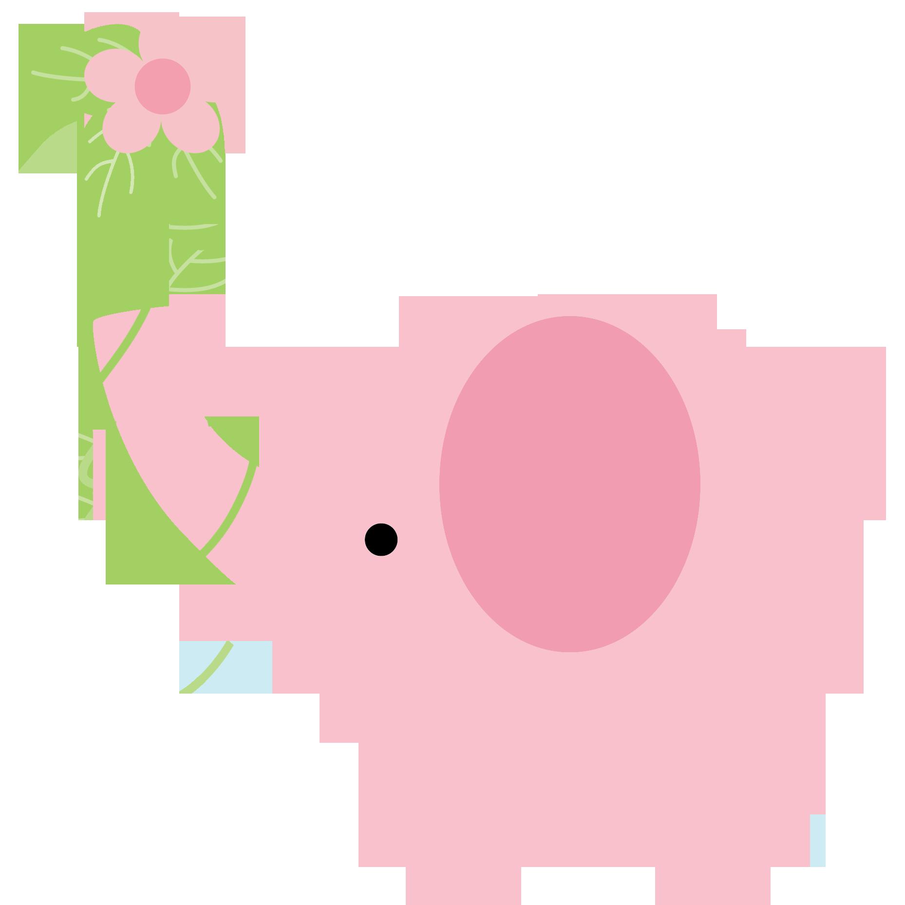 Infant clipart pink blue elephant. Clip art videos tips
