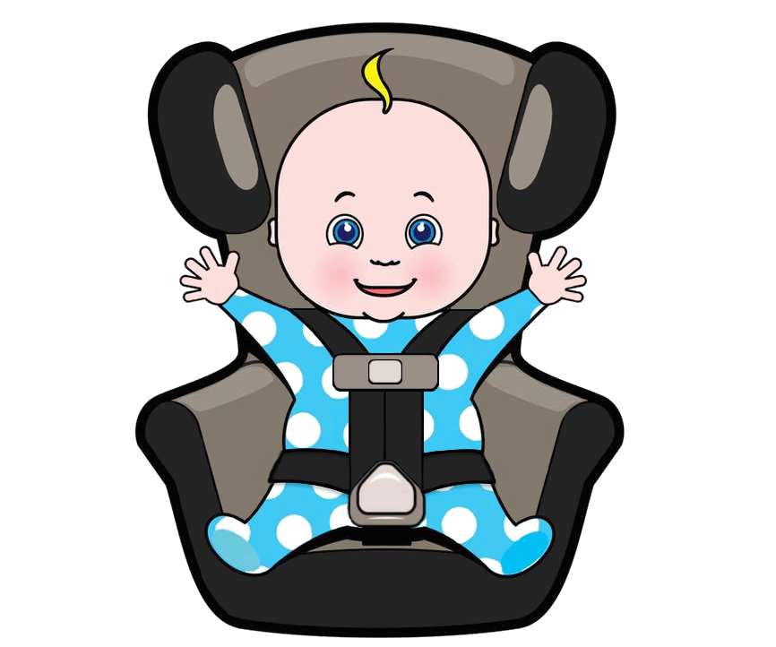 Infant clipart sit. Car seat safety your