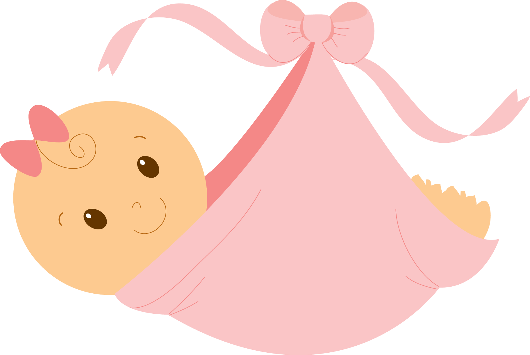 Infant girl free content. Witch clipart pink