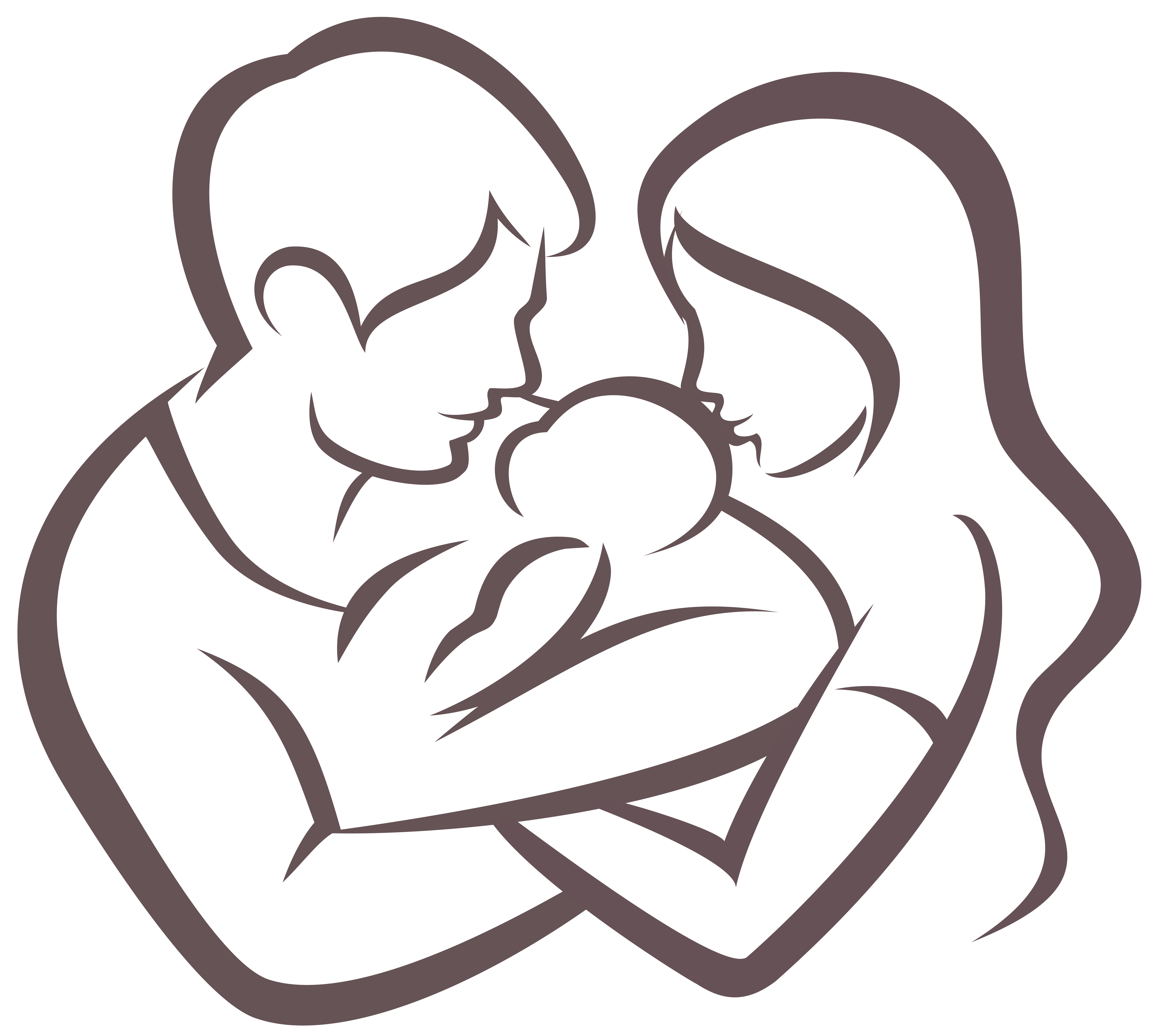 Infant clipart three baby. Father child family vector